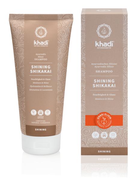 Obrázek Elixír šampon Shikakai lesk 200 ml Khadi