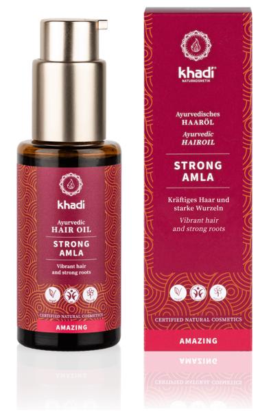 Obrázek Vlasový olej mocná Amla 50 ml Khadi