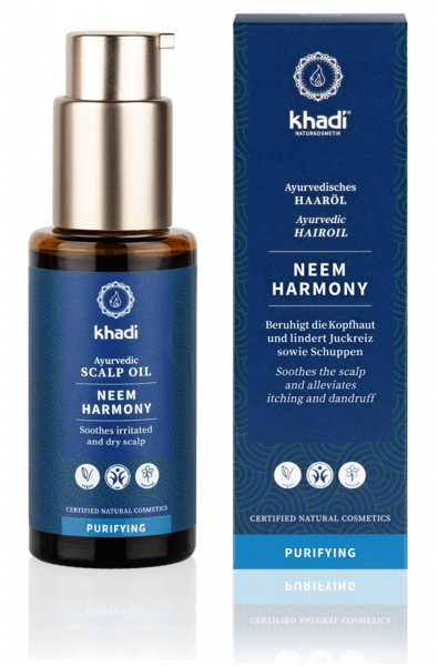 Obrázek Vlasový olej Neem harmonie 50 ml Khadi