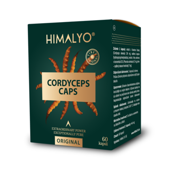 Obrázek Cordyceps CAPS 60 ks HIMALYO