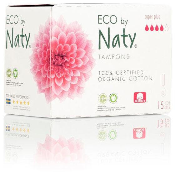 Obrázek Dámské ECO tampóny super plus Eco by Naty