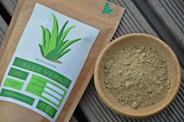 Obrázek Aloe vera prášek 100 g BEZOBAL