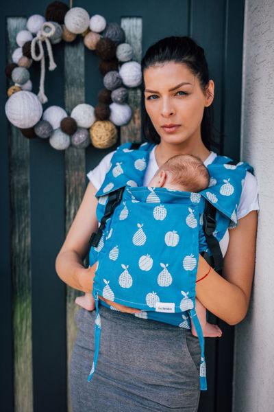 Obrázek Nosítko Be Lenka Mini - Ovoce - modré BeLenka