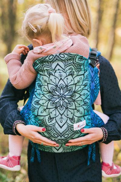 Obrázek Nosítko Be Lenka Toddler Mandala - Polární den BeLenka