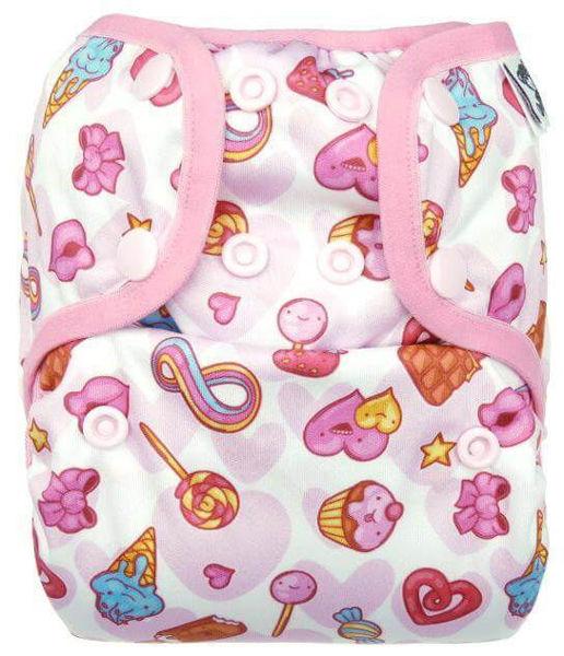 Obrázek Novorozenecké svrchní kalhotky PUL na patentky Anavy