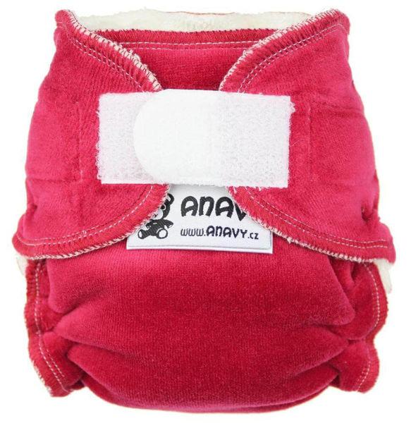 Obrázek Novorozenecká kalhotková plena na suchý zip Anavy