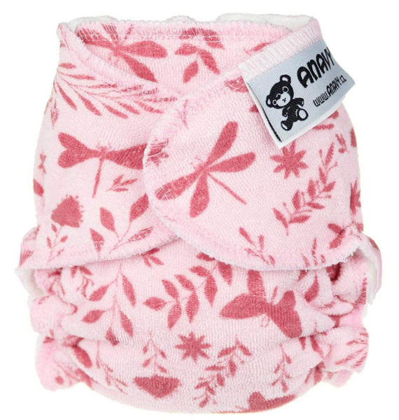 Obrázek Novorozenecká kalhotková plena na snappi sponku Anavy