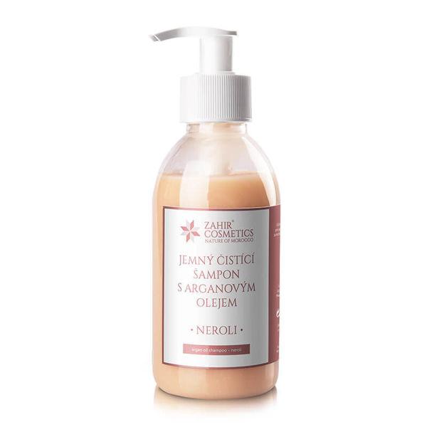 Obrázek Jemný čistící šampon s arganovým olejem 200 ml Záhir
