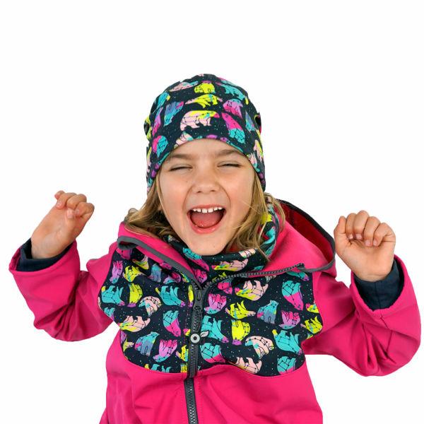Obrázek Dětský nákrčník z fleecu Unuo