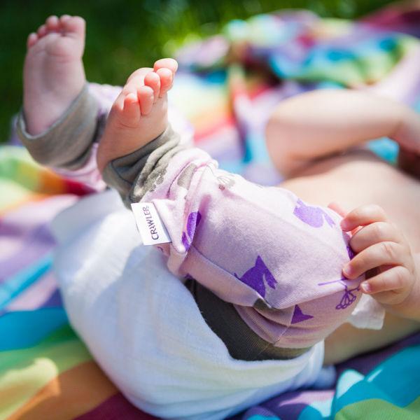 Obrázek Merino dětské návleky tenké Crawler