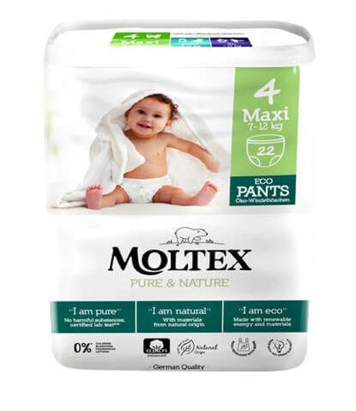 Obrázek Natahovací plenkové kalhotky Maxi 7 -12 kg Moltex Pure & Nature