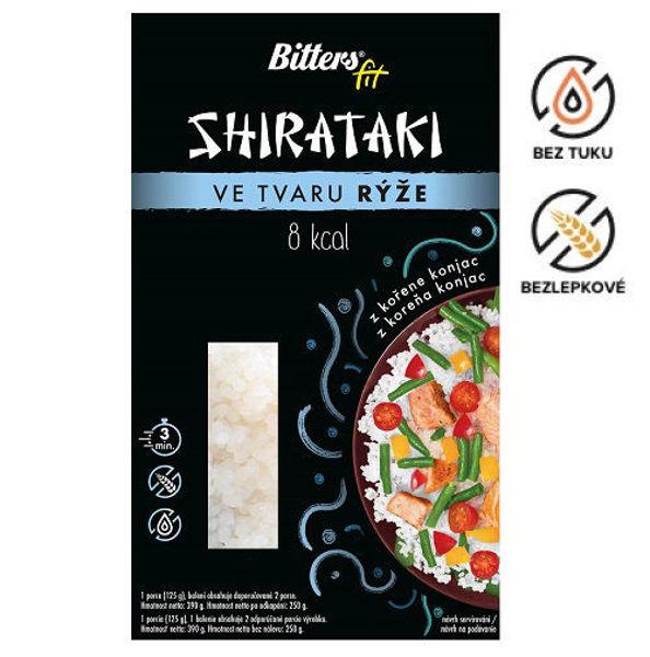 Obrázek Shirataki FIT - rýže 390 g Bitters