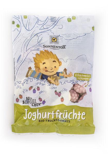 Obrázek Jogurtové ovoce - želé s jogurtem a ovocnou příchutí 100g SONNENTOR