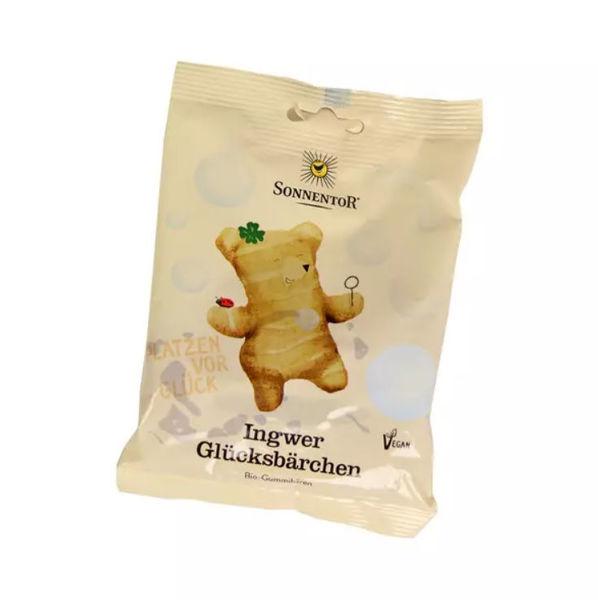 Obrázek Želé medvídci Štěstí se zázvorem 100 g SONNENTOR