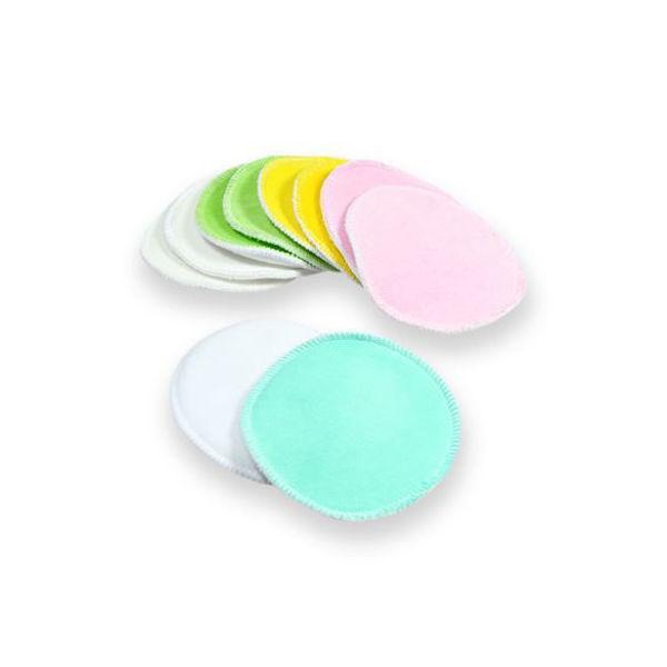 Obrázek 1 pár vložek do podprsenky barevné - velur Petit Lulu