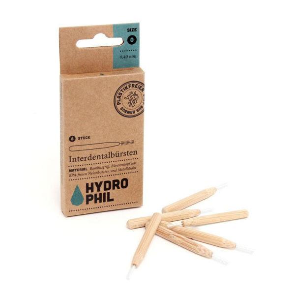 Obrázek Bambusový mezizubní kartáček (6 ks) - 0,40 mm Hydrophil