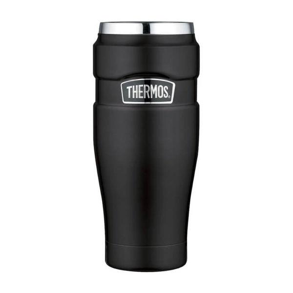 Obrázek Vodotěsný termohrnek matně černá Thermos