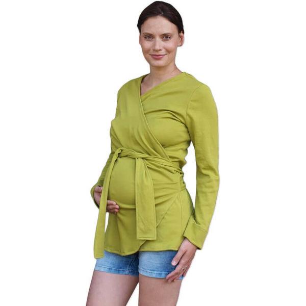 Obrázek Zavinovací kabátek pro těhotné a nosící ženy Jožánek