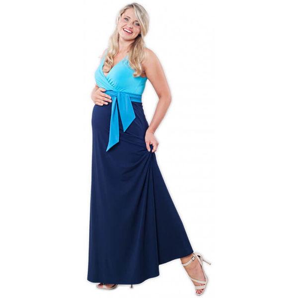 Obrázek Dlouhé těhotenské šaty velikost 38 Victoria Grace