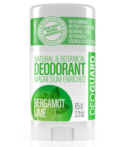 Obrázek Tuhý přírodní deodorant Bergamot-Lime 65 g DEOGUARD
