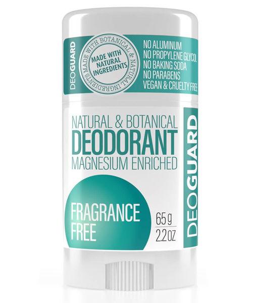 Obrázek Tuhý přírodní deodorant Frangrance Free 65 g DEOGUARD