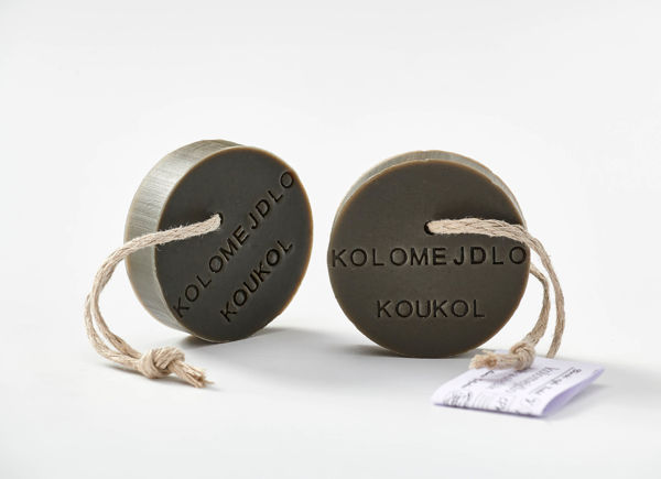 Obrázek Mýdlo dub a ořešák 90 g KOUKOL