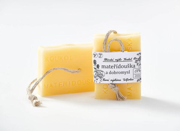Obrázek Mýdlo mateřídouška a dobromysl 90 g KOUKOL