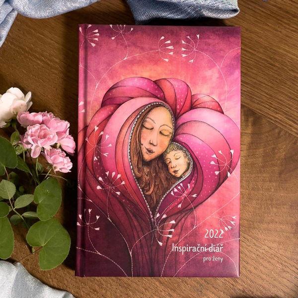 Obrázek Inspirační diář pro ženy Láska 2022 Lucie Ernestová