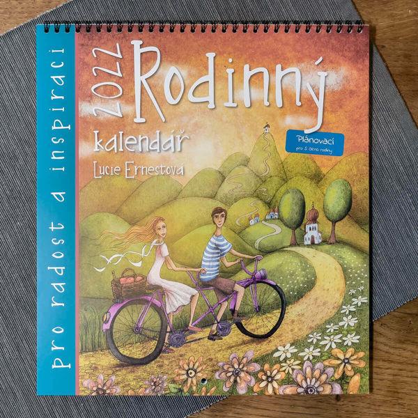 Obrázek Rodinný kalendář 2022 Lucie Ernestová