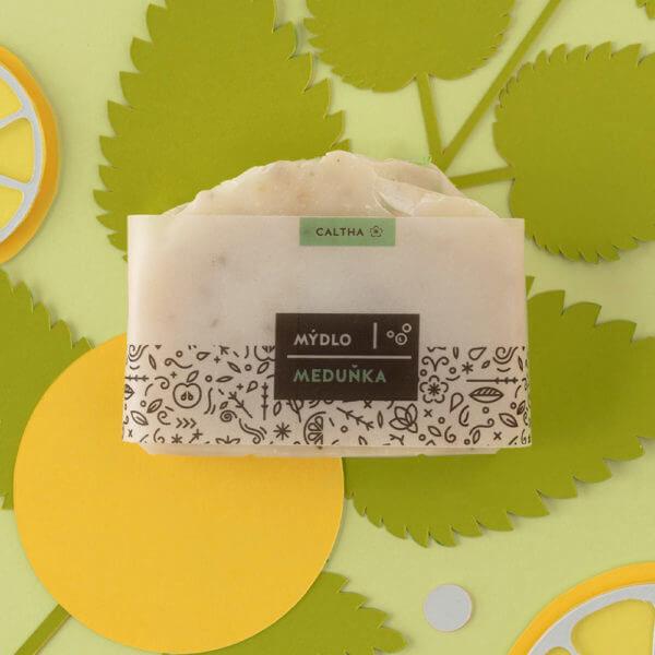 Obrázek Bylinné mýdlo MEDUŇKA 100 g Caltha