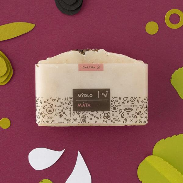 Obrázek Bylinné mýdlo MÁTA 100 g Caltha